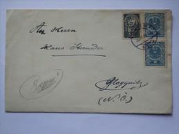 AUSTRIA 1921 COVER FROM WIEN TO GLOGGNITZ SENT BY Max Von Millenkovich AUSTRIAN WRITER - Briefe U. Dokumente
