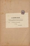 Bande Bandeau Bandelette De Journal Tirlemont Sucrerie Winckenbosch Raffinerie Tirlemontoise - Otros