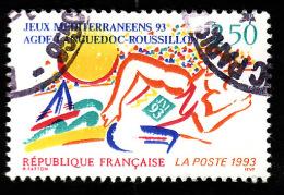 FRANCE  1993 - Y&T  2795  -  Jeux Agde Languedoc  -  Oblitéré - Gebraucht