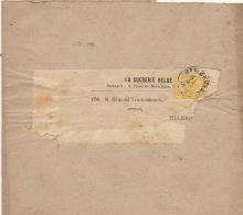 Bande Bandeau Bandelette De Journal Tirlemont Sucrerie Winckenbosch Raffinerie Tirlemontoise - Belgio
