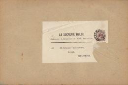 Bande Bandeau Bandelette De Journal Tirlemont Sucrerie Winckenbosch Raffinerie Tirlemontoise - België