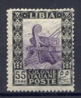 Libia 1924 50c. Senza Filigrana Sass.52 */MH VF/F Cert Diena - Libye