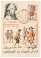 SENEGAL - Carte Fédérale Journée Du Timbre 1949 - THIES Sénégal - (Cachet Choiseul) - Sénégal (1887-1944)