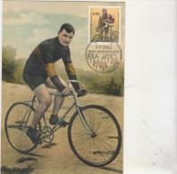 LUXEMBOURG: /  CP /  SPORT /  CYCLISME / FRANCOIS FABER VAINQUEUR DU TOUR DE FRANCE 1909 - Postkaarten
