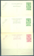 RUANDA URUNDI  - PREPAID POSTCARD -  LOT OF 3 CARDS -  Lot  9696