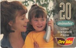 USA - Ore Ida, Sprint Prepaid Card 20 Min, Used