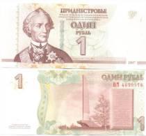 2013. Transnistria, 1 Rub. With New Securuty And Modification 2012, UNC - Moldova