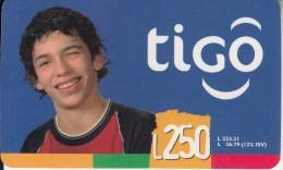 HONDURAS - Boy, TIGO Prepaid Card L250, Exp.date 05/06, Used - Honduras