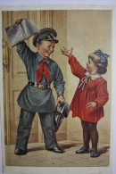 """USSR PROPAGANDA.  Pioneer Movement  ( Communist Party Scouting) -  - Old PC 1954 - """"FIVE MORE!"""" By Gundobin - Partis Politiques & élections"""