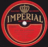 78 Trs - IMPERIAL F10054 - état EX - Camille Gillard - J'AI MA COMBINE - C'EST POUR MON PAPA - 78 Rpm - Schellackplatten