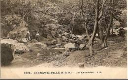 CPA -  CERNAY LA VILLE - Les Cascades - - Cernay-la-Ville