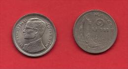 THAILAND,  1977, Circulated Coin XF, 1 Baht, KM110, C1904 - Thailand