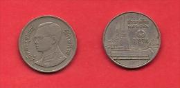 THAILAND,  1986-1997, Circulated Coin XF, 1 Baht, Circulation Coinage, KM183, C1905 - Thailand