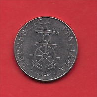 ITALY, 1981, Circulated Coin XF, 100 Lire, Livorno, KM108, C1909 - Italy