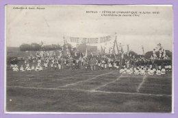 14 - BAYEUX -- Fêtes De Gymnastique ( 4 Juillet 1909 -- L'Apothéose De Jeanne D'Arc - Bayeux