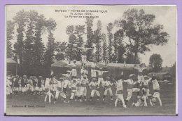 14 - BAYEUX -- Fêtes De Gymnastique ( 4 Juillet 1909 -- La Pyramide  Sans Engins - Bayeux