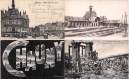 Lot De 15 Cartes CPA De Chauny - LOT 100% Scanné  - AISNE (02) - Chauny