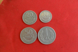 Lot Tchéque.5 Monnaies/ 5 Ctmes 1949/10 Ctmes 1949 SUP/ 20 Ctmes 1961 SUP/50 Ctmes 1949 SUP Et 1 Zlt 1957 SUP - Tschechoslowakei