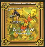 Mozambique 2001 Sydney Olympic Women Medal Winner Table Tennis M/s Cancelled # 8105 - Summer 2000: Sydney