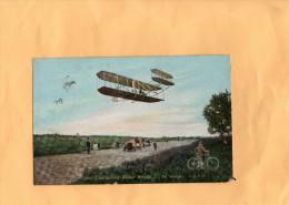 L'AEROPLANE WILBUR WRIGHT - Un Virage - Flugzeuge