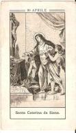 275 SANTINI UN SANTO PER OGNI GIORNO, ORIGINALE 1880 SCEGLI IL TUO MANCANTE,30 APRILE SANTA CATERINA DA SIENA - Devotion Images
