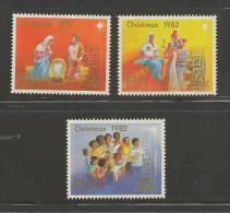 FIJI, 1982, Mint Never Hinged Stamps, Christmas SG647-679, #2108 - Fiji (1970-...)