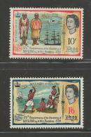 FIJI, 1966, Mint Never Hinged Stamps,  Discovery Rotumba (2 Values Only) SG352-355#2080 - Fiji (1970-...)