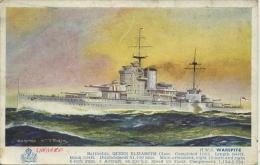 HMS WARSPITE By BERNARD CHURCH - Guerre