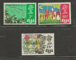 FIJI, 1969, Mint Never Hinged Stamps, Fijian Military Forces, 249-251, #2092 - Fiji (1970-...)