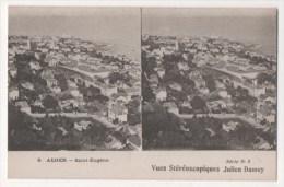 Vues Stéréoscopiques Julien Damoy - ALGER - Saint-Eugène - Stereoscope Cards