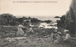 CPA Le Pouliguen - Les Rochers De La Pointe De Pen-Château - Le Pouliguen