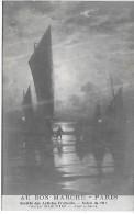AU BON MARCHE - Salon Des Artistes Français 1914 - Georges MARONIEZ - Nuit à Berck - Werbepostkarten