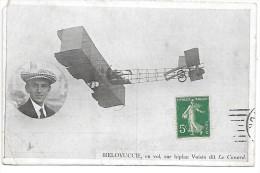 AVIATEUR - BIELOVUCCIE En Vol Sur Biplan Voisin Dit Le Canard - Aviatori