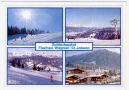 Postcard Austria,  Schischaukel, Used With Stamps - Wagrain