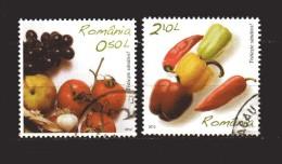 Romania - ° 2012 -  Verdura 2 Valori. - 1948-.... Repubbliche