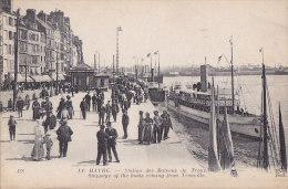 Al - Cpa LE HAVRE - Station Des Bateaux De Trouville - Hafen