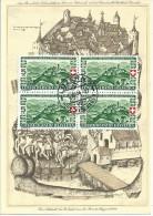 """Bundesfeier Karte 76  """"St.Jakob An Der Birs""""  (VB Frankatur)             1944 - Suisse"""