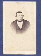 "Fotografia Antiga 1860s Old CDV Real Photo PORTUGAL CARTAXO (Santarem) ""Jose Daniel Pereira"" - War, Military"