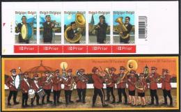 Année 2005 -  B 57   (3459/63) - Harmonies Et Fanfares -  Cote 7,00€ - Postzegelboekjes 1953-....