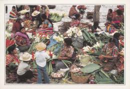 GUATEMALA.  Chichicastenango. Marchandes De Fleurs  -  Chichicasrenango. Vandedoras De Flores. - Guatemala
