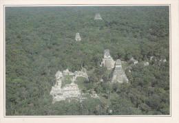GUATEMALA.  Tikal.  Ruines Dans La Forêt Vierge.  -  Tikal.  Ruinas En La Selva Virgen. - Guatemala