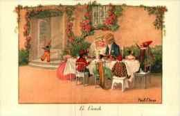 Illustrateur Pauli EBNER - Le Lunch (AR 1362) - Ebner, Pauli