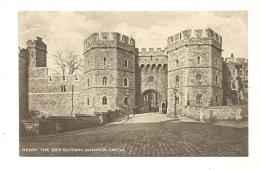 Cp, Angleterre, Windsor Castle, Henri Teh VIII's Gateway