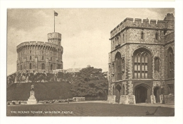 Cp, Angleterre, Windsor Castle, The Round Tower