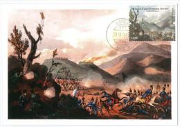 Portugal Maximum - Buçaco Naponeolic Battle - Peninsular War - 2010 - Luso Postmark - Bussaco - Militaria