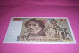 100 FR DELACROIX   1994 - 1962-1997 ''Francs''