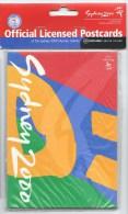 Jeux Olympiques Sydney 2000 - Paquet 10 Cartes Postales Officielles Non Ouvert  (cyclisme) - Jeux Olympiques