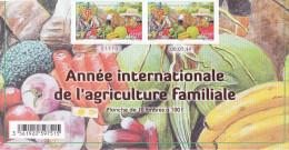 Polynésie Française / Tahiti - Année Internationale De L´agriculture / 100 F / Numéroté Et Daté / 2014 - Polynésie Française