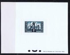 1953  Puits De Mine 1 Fr  Yv 306 Epreuve De Luxe Minr 319 Ministerblock - Neufs