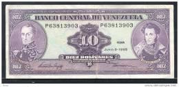 VENEZUELA  10 BOLIVAR   1995 - Venezuela